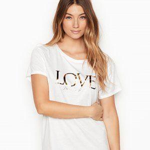 Victoria's Secret | Crewneck LOVE Sleepshirt | L